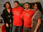 Ideal homes for heroes Jason Manford, Amanda Lamb, Andy Reid