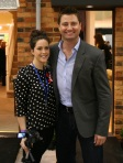 Kellie Hill and George Clarke Ideal Home Show