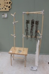 Clothes rack by Ornella Stocco