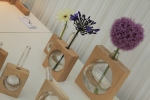 Flower vases by Laura McGill