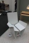 White metal chair New Designers 2011